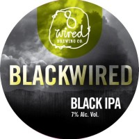 8 Wired Blackwired Black IPA