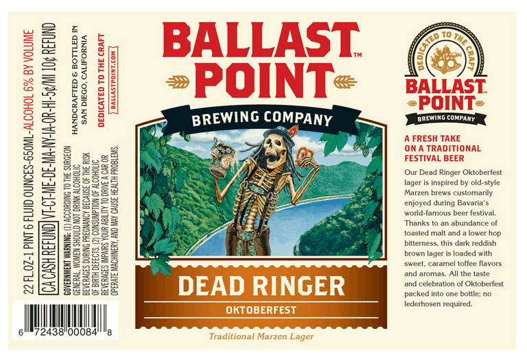 Ballast Point Coffee Beer