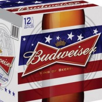 Budweiser Red White Blue 12pack crop