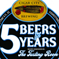Cigar City 5 Beers for 5 Years Florida Weisse