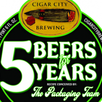 Cigar City 5 Beers for 5 Years Gose