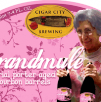Cigar City Grandmule Bourbon Barrel Aged Imperial Porter