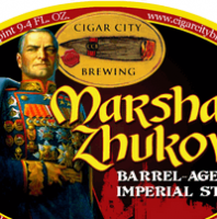 Cigar City Marshal Zhukov's Imperial Stout Aged in Bourbon Barrels