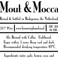 De Molen Mout and Mocca Coffee Ale