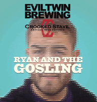 Evil Twin Ryan and the Gosling Brett Pale Ale