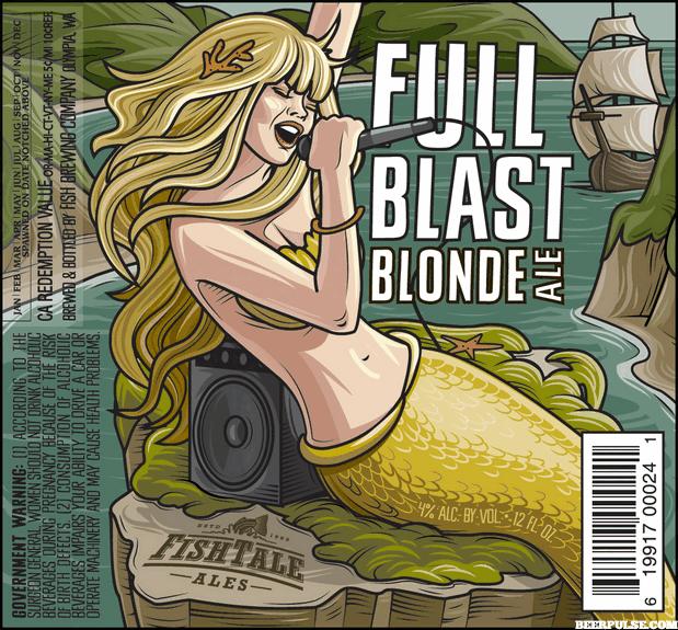 Fish Tale Full Blast Blonde Ale | BeerPulse