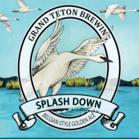 Grand Teton Splash Down Belgian Golden Ale