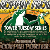 Hoppin' Frog Infusion A Coffee Porter