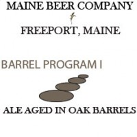 Maine Barrel Program 1 Blonde Sour Ale