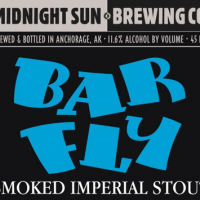 Midnight Sun BarFly Smoked Imperial Stout Aged in Bourbon Barrels