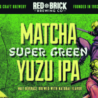 Red Brick Matcha Super Green Yuzu IPA