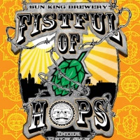 Sun King Fistful of Hops IPA
