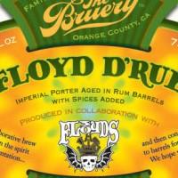 The Bruery Floyd d'Rue Rum Barrel-Aged Imperial Porter