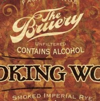 The Bruery Smoking Wood Bourbon Barrel Aged Smoked Imperial Rye Porter