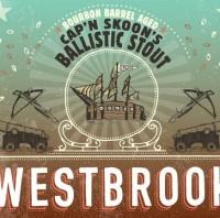 Westbrook Bourbon Barrel Aged Cap'n Skoon's Ballistic Baltic Stout