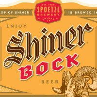shiner bock label