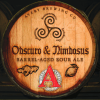Avery Obscuro and Nimbosus label