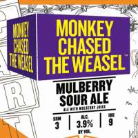 Carton Monkey Chased the Weasel Mulberry Sour Ale