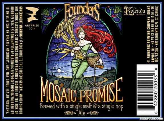 Founders Mosaic Promise Ale