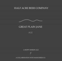 Half Acre Great Plain Jane Ale