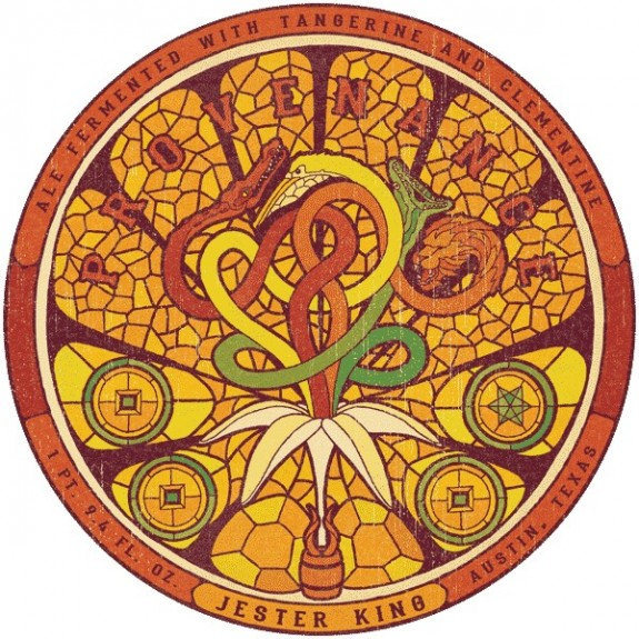 Jester King Provenance Tangerine and Clementine
