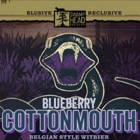 Swamp Head Blueberry Cottonmouth Belgian Witbier