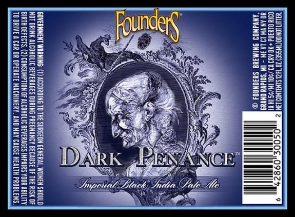 Founders Dark Penance Imperial Black IPA