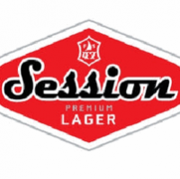 session lager logo