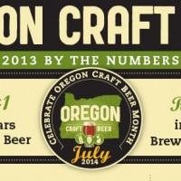 Oregon Craft Beer 2013 Stats Header