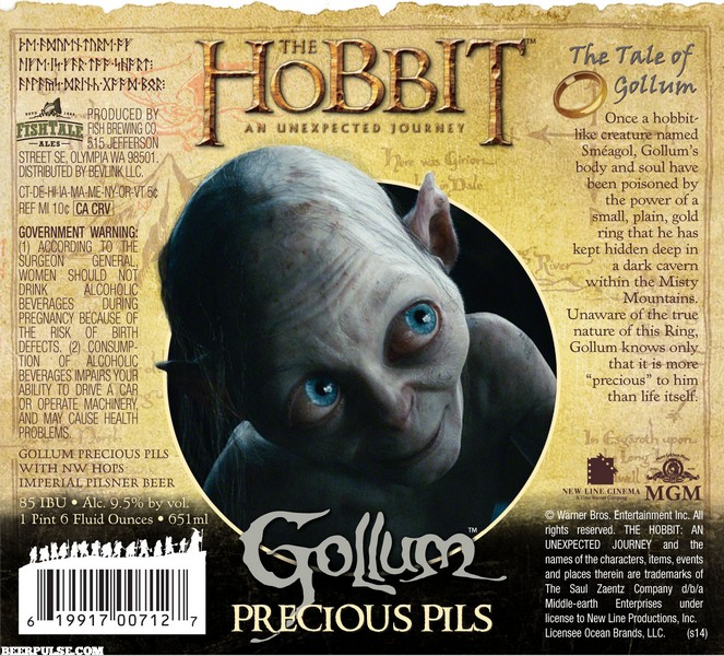 The Hobbit Gollum Precious Pils