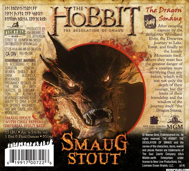 The Hobbit Smaug Stout