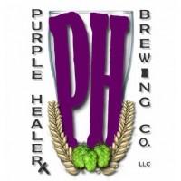purple healer brewing logo