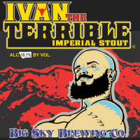 Big Sky Ivan the Terrible Imperial Stout