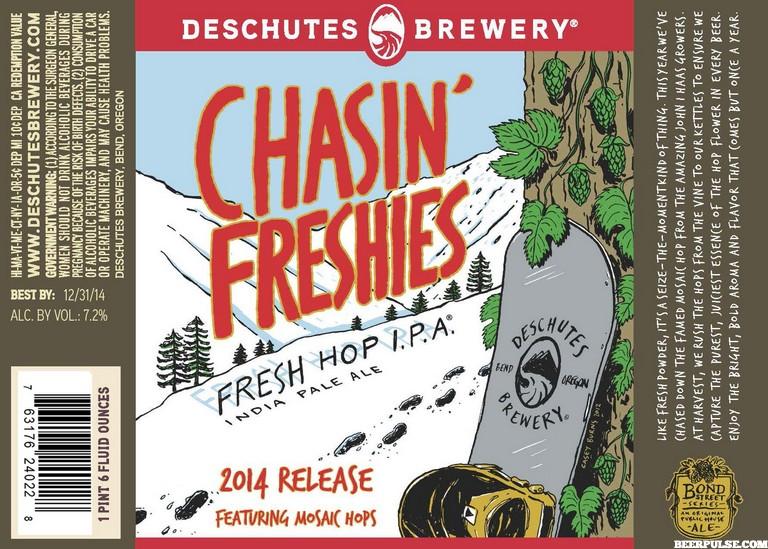 Deschutes Chasin' Freshies 2014