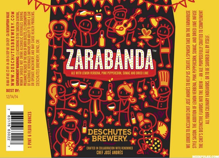 Deschutes Zarabanda Ale