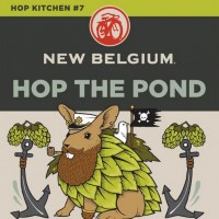 New Belgium Hop the Pond Double IPA