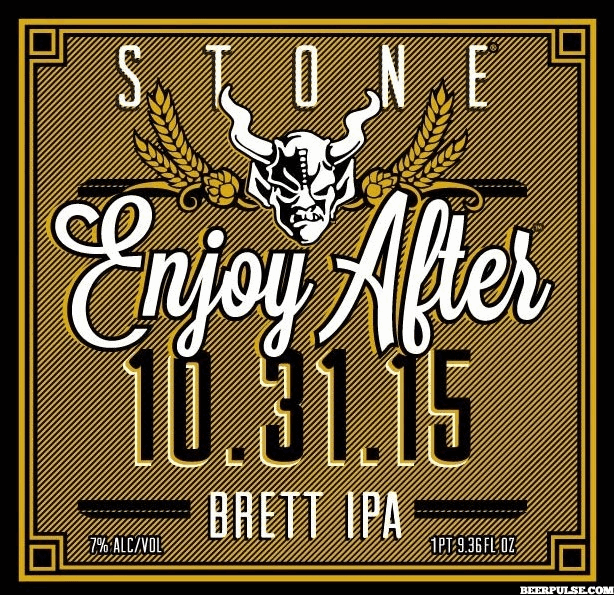 Stone Enjoy After 10.31.15 Brett IPA