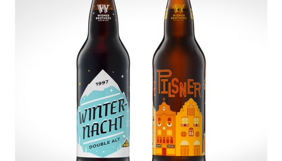 Widmer Brothers Winternacht Double Alt and Pilsner