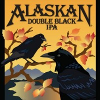 Alaskan Double Black IPA label