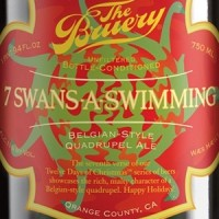 the bruery 7 swans bottle crop