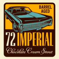 Breckenridge Barrel Aged 72 Imperial Chocolate Cream Stout label