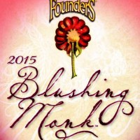 Founders Blushing Monk Belgian Ale label BeerPulse