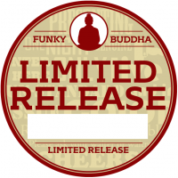 Funky Buddha Limited Release sticker