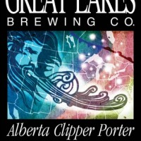 Great Lakes Alberta Clipper Porter label
