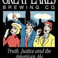 Great Lakes Truth Justice and the American Ale label