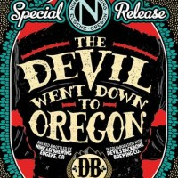 Ninkasi The Devil Went Down to Oregon Imperial Dark Rye 22oz label BeerPulse