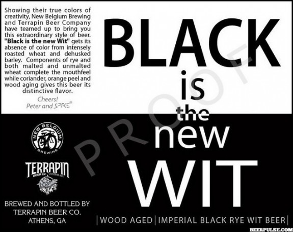 Terrapin Black is the New Wit Imperial Black Rye Wit