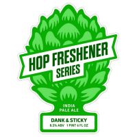 The Hop Concept Dank & Sticky IPA logo