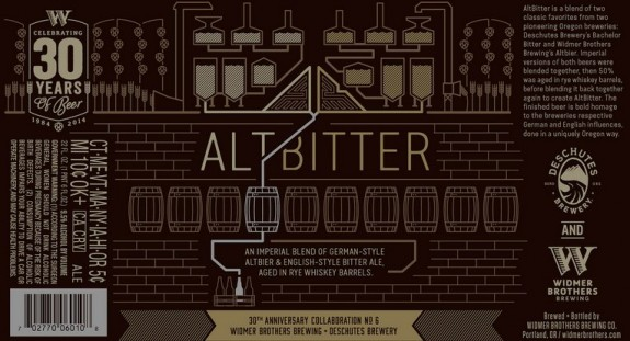 Widmer Brothers Altbitter label BeerPulse