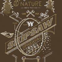 Widmer Brothers Skipsaw Upheaval IPA label BeerPulse